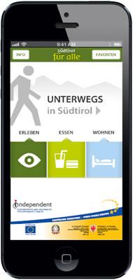 App - Südtirol für alle